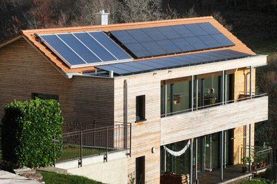 Installazione effettuata impianti fotovoltaici in Ticino